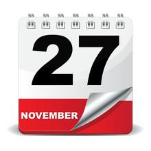 27 NOVEMBER ICON