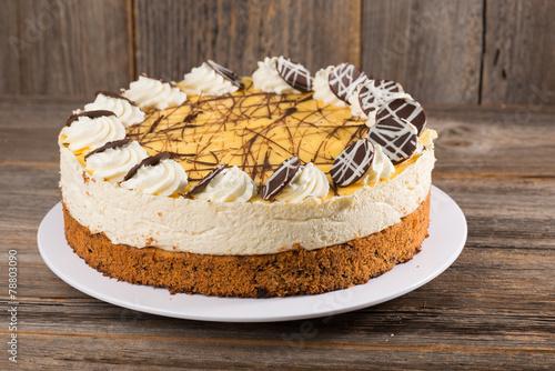 Eierlikör-Kokos-Torte Fototapete