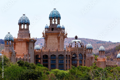 Foto op Plexiglas Zuid Afrika panorama of Sun City, The Palace of Lost City, South Africa