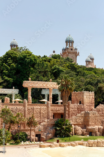 Foto op Canvas Zuid Afrika Sun City, The Palace of Lost City, South Africa