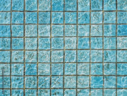 fototapeta na szkło Basen ze stan wody brudnej