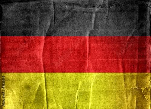 Fototapete - Flag of Germany