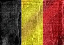 National Flag Of Belgium Theme...