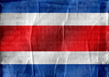 National Flag Of Costa Rica Th...