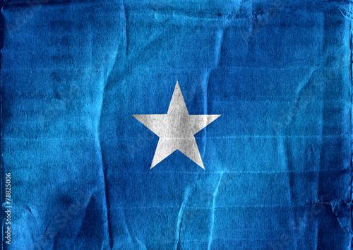 Fototapete - Somalia flag themes idea design