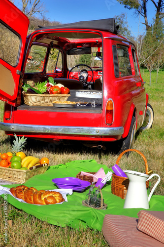 Foto op Plexiglas Picknick picnic