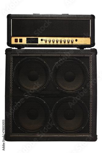 Fotografía guitar amplifier