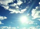 Traumhaft blauer Himmel