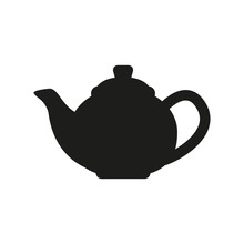 The Teapot Icon. Tea Symbol. F...
