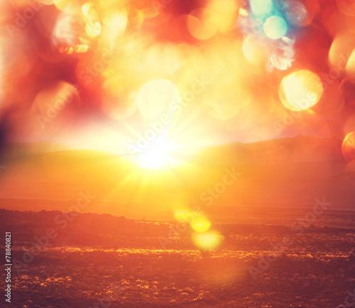Canvas Prints Sunset Sunset