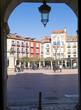 The historic center of Burgos, Spain,