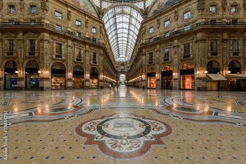 Milano Galleria 3 Canvas Print