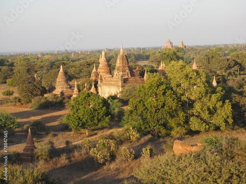Staande foto Droogte Pagoda budista en Bagan (Myanmar)