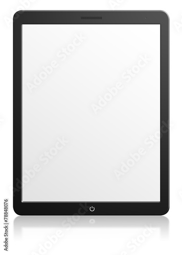 Modern computer tablet with blank screen Fototapeta