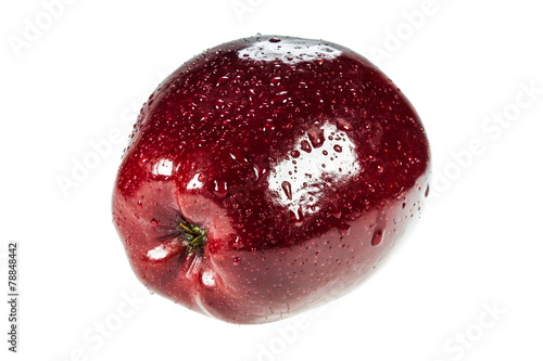 Fototapeta jabłko na białym tle obraz