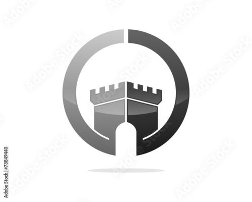 Fortress Castle Circle Fototapeta