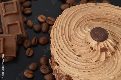 Fotografie, Obraz  Chocolate mocha cake.