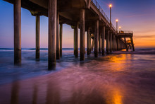 The Pier At Twilight, In Hunti...