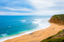 Bells Beach On Great Ocean Road, Australia