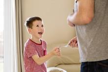 Boy Receiving Pocket Money (al...