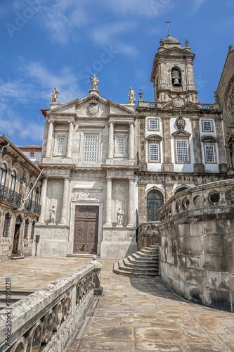 Fotobehang Fontaine The Church of Saint Francisco , Portugal , Porto,