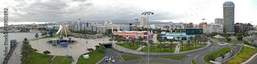 Panorama von Santa Catalina in Las Palmas