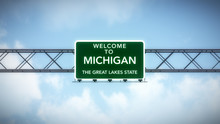 Michigan USA State Welcome To ...
