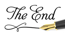 The End Handwritten