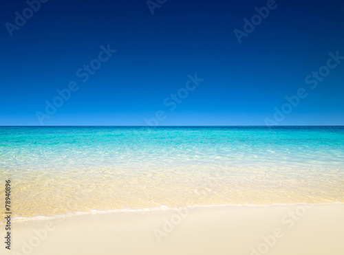 Photo  tropical sea