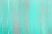 Turquoise Painted Wooden Background Texture