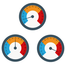 Temperature Gauge Used In Cooking Grill With The Equipment