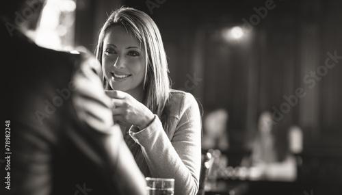 Photo  Meeting at the bar