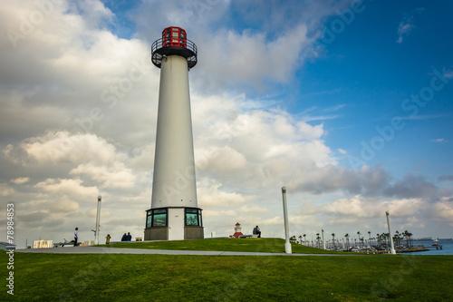 Garden Poster Lighthouse Long Beach Harbor Lighthouse, in Long Beach, California.