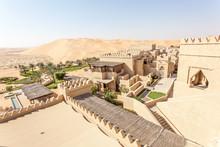 Desert Resort In The Emirate Of Abu Dhabi, UAE