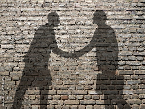business partners Tablou Canvas