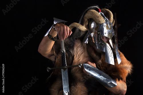 Photo  Viking warrior