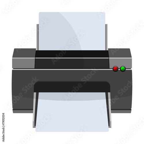 Fotografía  Icono impresora