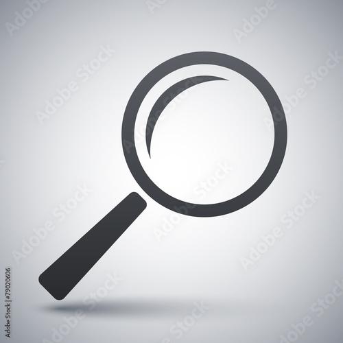 Fotografia  Vector search icon