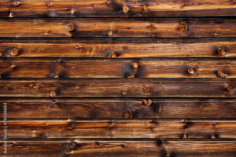 Rustikale Holzwand Foto, Poster, Wandbilder bei EuroPosters