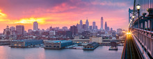 Philadelphia Panorama Under A ...