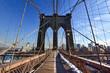 Brooklyn Bridge, Winter - New York CIty