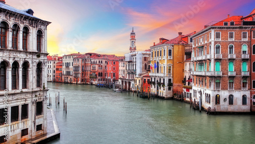 Foto op Canvas Venice Venice - Rialto bridge and Grand Canal