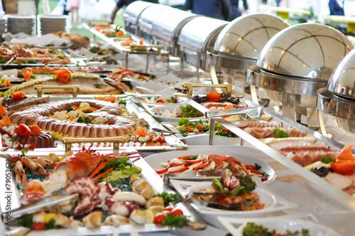 Fotografie, Obraz  Catering food