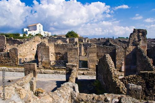 Foto op Aluminium Rome Archeological excavations of Pompeii, Italy