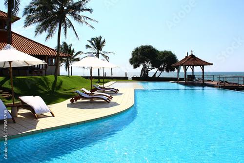 Бассейн, отель Saman Villas