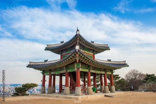 Hwaseong fortress in Suwon,Korea Poster