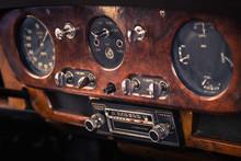 Dashboard Retro Car Interior