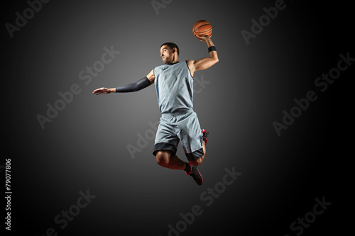 Basketball Player Wallpaper Mural