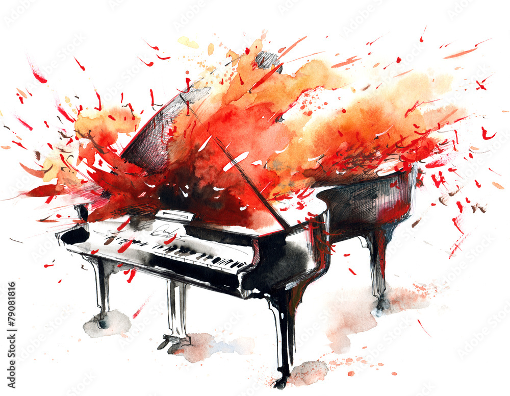 Fototapeta music
