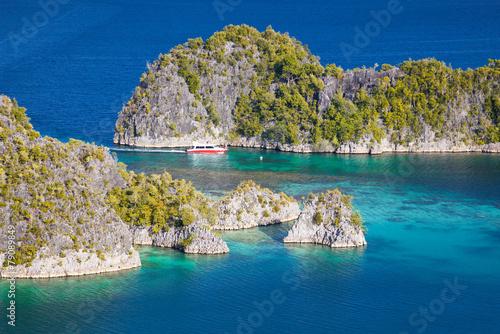 Foto op Plexiglas Indonesië Fam islands Wayang Indonesia